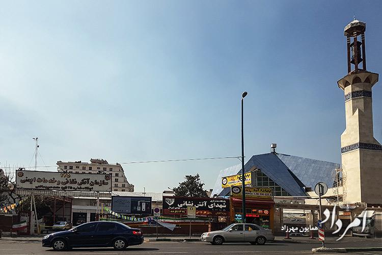 آتش نشانی ایستگاه 25 محله سعادت آباد