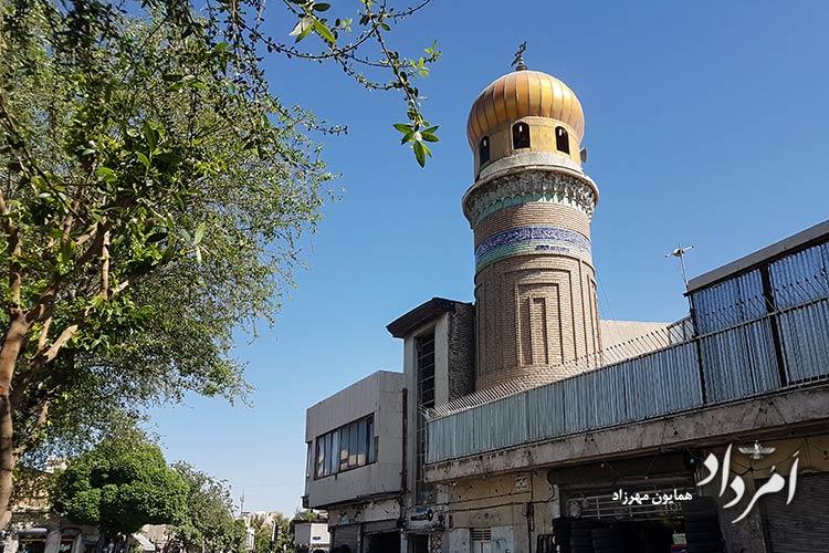مسجد امام سجاد (ع)_انبار گندم