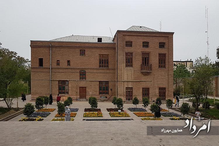ساختمان وثوقالدوله در محله سلیمانیه