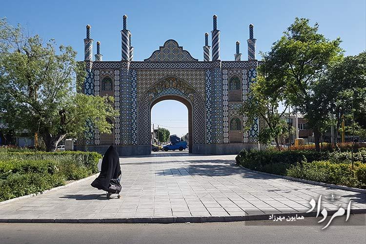 دروازه شوش یکی از شش دروازه تهران قدیم