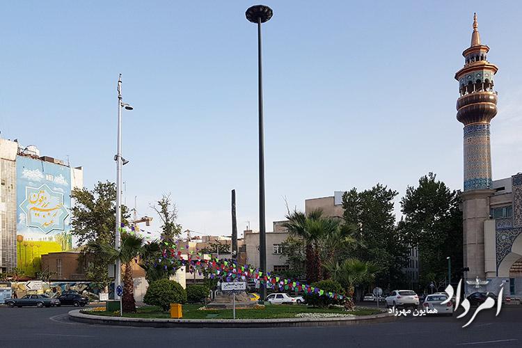 میدان فلسطین ( کاخ پیشین )