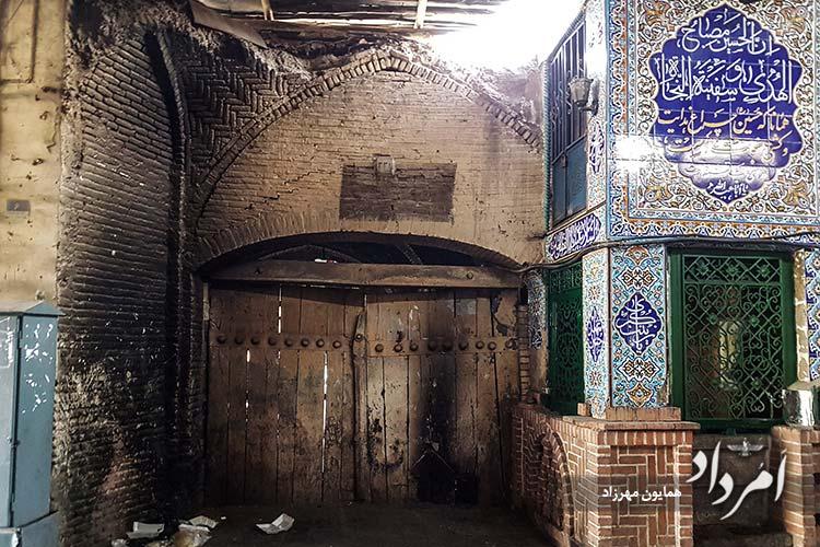 گذر بازارچه نایب سلطنه محله آب منگل (قیام)