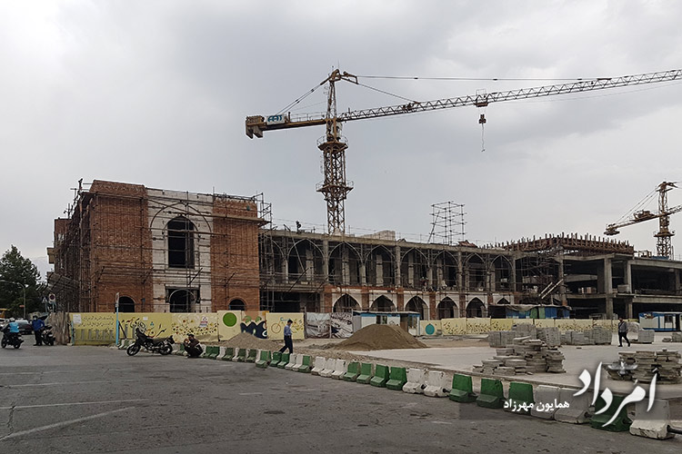 پروژه خانه شهر (بلدیه قدیم) در میدان توپخانه