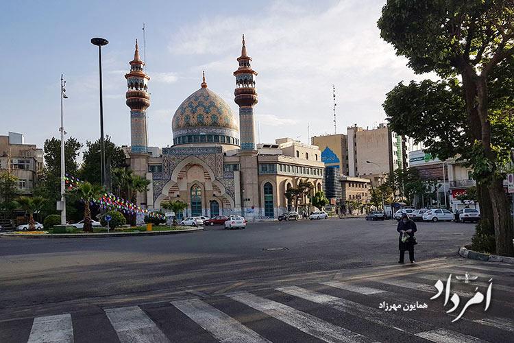 مسجد امام صادق(ع)-میدان فلسطین