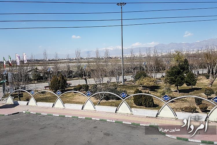 بوستان ولایت (فرودگاه قلعه مرغی پیشین) محله فلاح-خزانه با 3میلیون متر مربع بزرگترین بوستان خاورمیانه