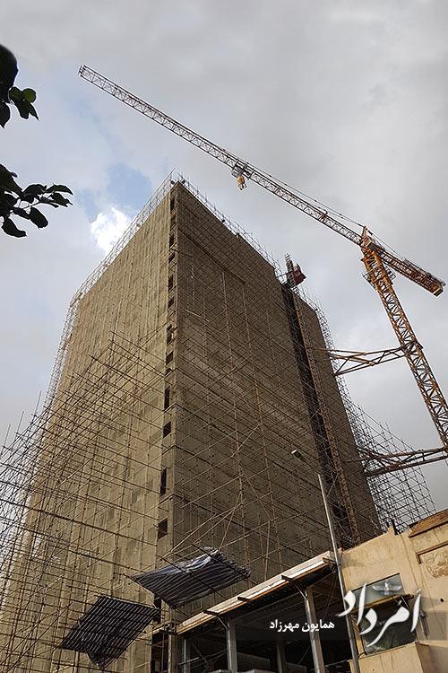 برج پلاسکو در حال اتمام ساخت 1399
