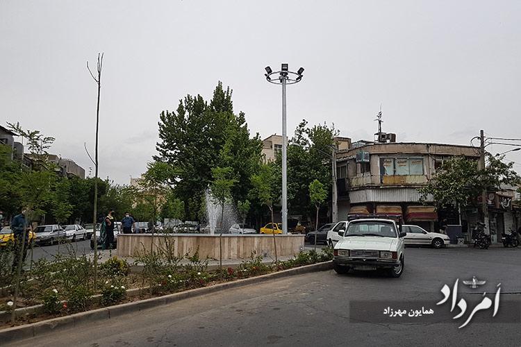 میدان سرآسیاب که درگذشته آسیاب آبی بوده است