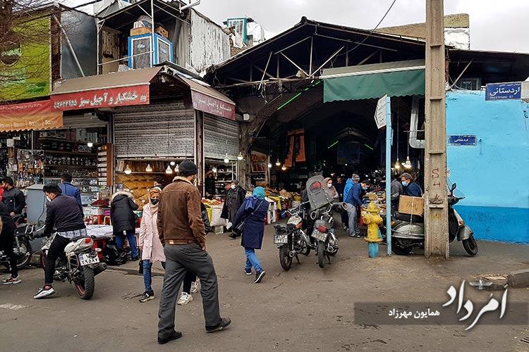 بازارچه امین السلطان-اردستانی