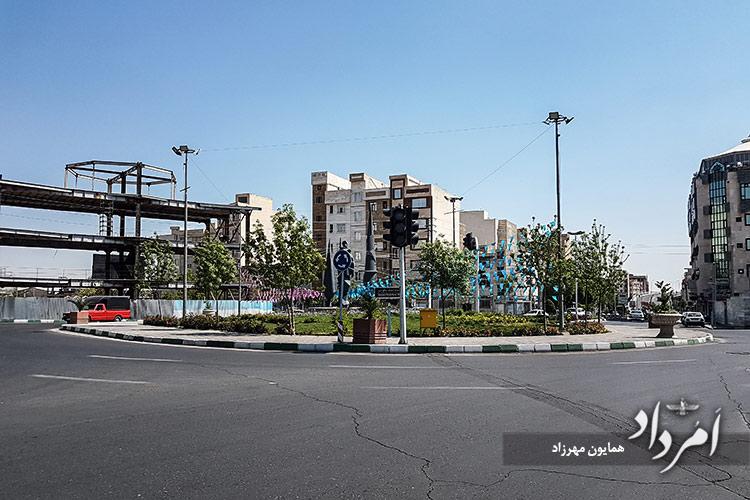 میدان شهیدان مدافعان حرم، محله فلاح-خزانه