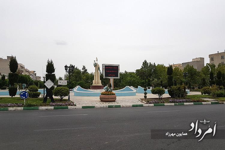 میدان امام حسن مجتبی (ع) محله سلیمانیه