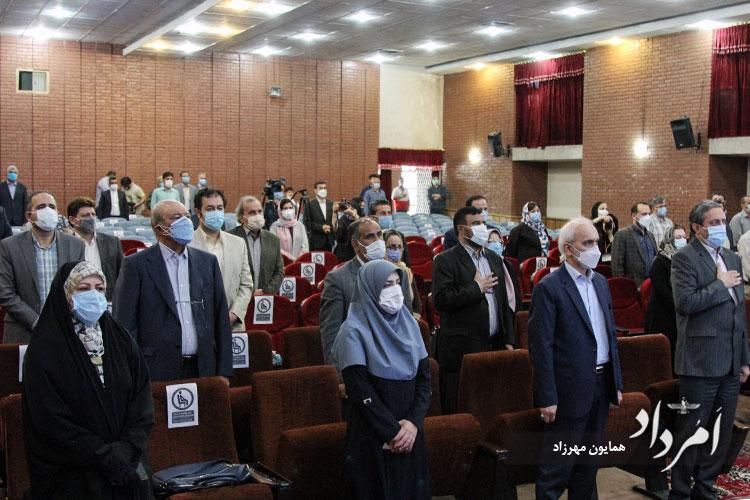 احترام به سرودملی ایران