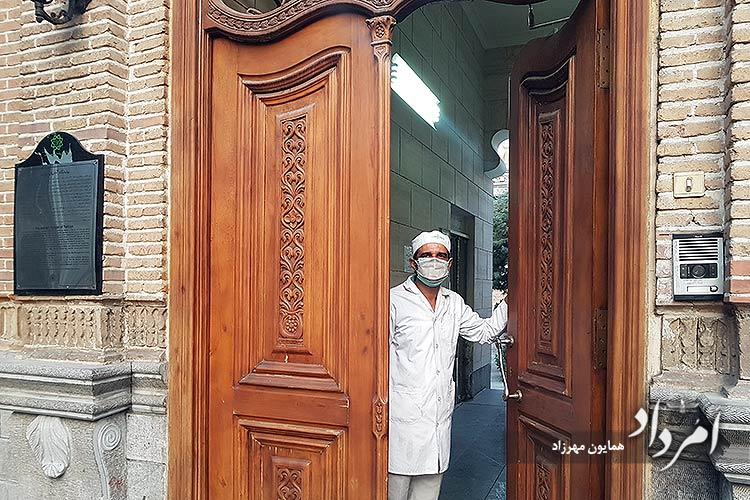 داریوش موبد سرپرست آتشکده زرتشتیان تهران