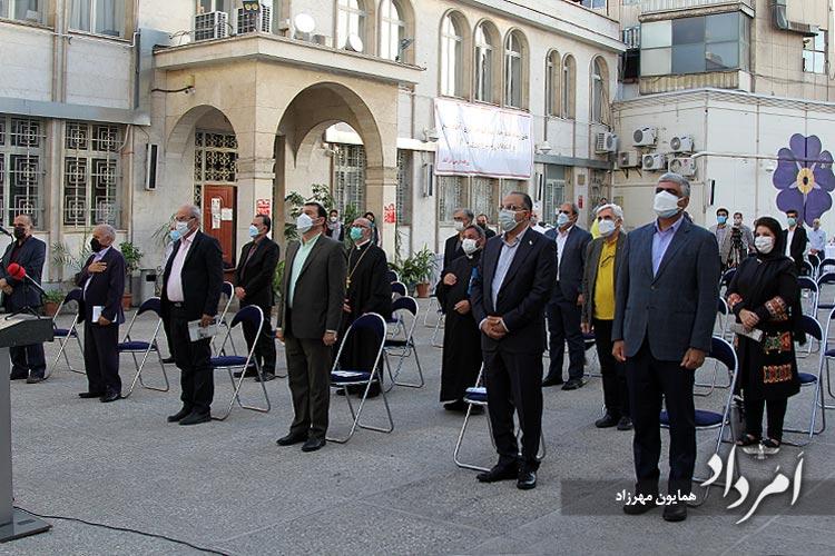 احترام به سرود ملی ایران