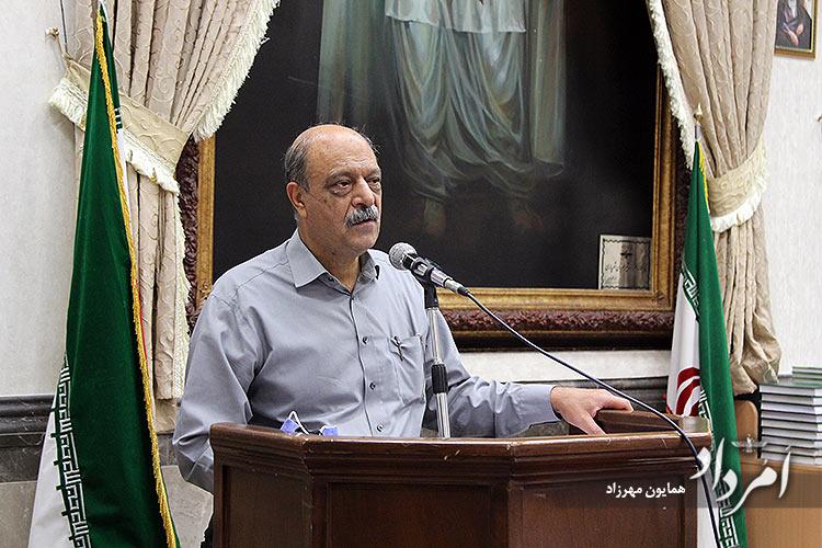 شاه بهرام سیروسی خزانهدار انجمن گزارش مالی و عملکرد را خواند