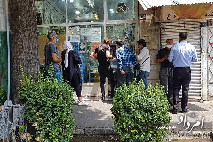 ساندویچی موسیو با پیشینه 60ساله در خیابان 12 فروردین-جمهوری
