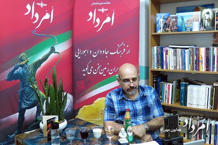 بهروز جمشیدی مجری هماورد طنز