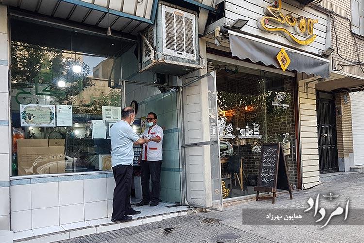 ساندویچی کاج با پیشینه پنجاه ساله در محله یوسف آباد خیابان کاج
