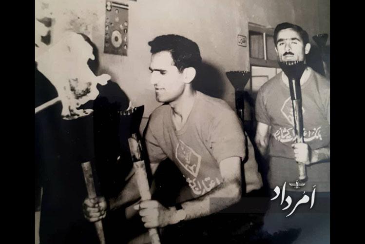روانشاد فریدون فلاحتی مشعلدار المپیک ورزشی بانک کشاورزی یزد