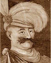 The image of Shah Abbas wearing a hat that he had himself designed.