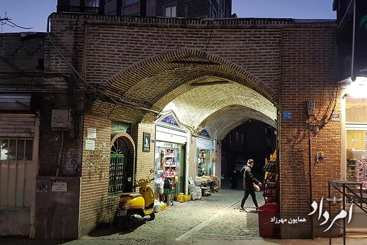 خیابان تختی محله زندگی کودکی تختی قهرمان کشتی جهان