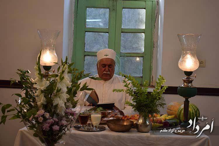 آیین جشنخوانی با آوای موبد بهروز نجمیزاده