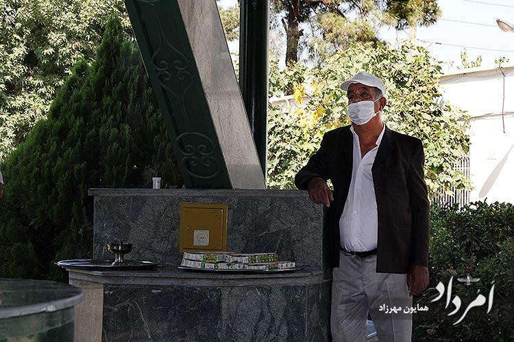 فریدون رویینتن، سرپرست آرامگاه زرتشتیان تهران